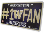 Washington Huskies Rico Industries #1 Fan Tag Auto Accessories