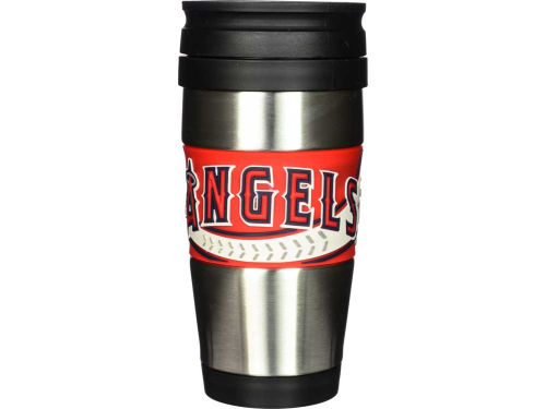 Los Angeles Angels Hunter Manufacturing Stainless Steel Travel Tumbler