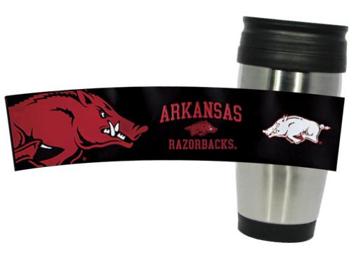 Arkansas Razorbacks Stainless Steel Travel Tumbler