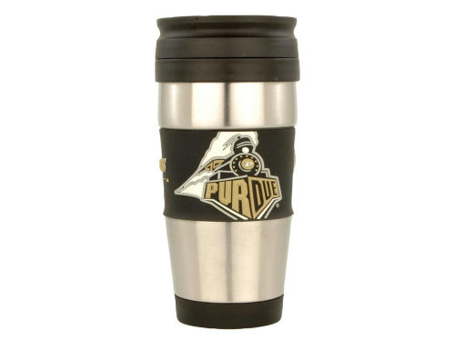 Purdue Boilermakers Hunter Manufacturing Stainless Steel Travel Tumbler