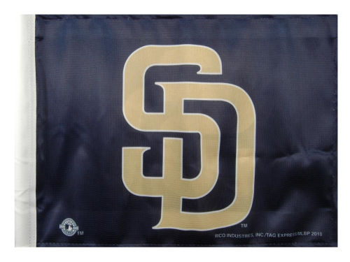 San Diego Padres Rico Industries Car Flag Rico