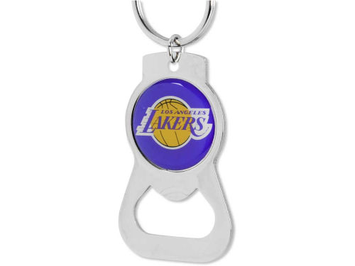 Los Angeles Lakers Aminco Inc. Aminco Bottle Opener Keychain