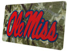 Mississippi Rebels Camo Laser Tag Auto Accessories