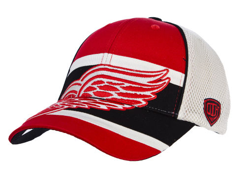 Detroit Red Wings Old Time Hockey NHL Eclipse Flex Cap Hats