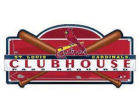 St. Louis Cardinals Wincraft Clubhouse Sign Kitchen & Bar