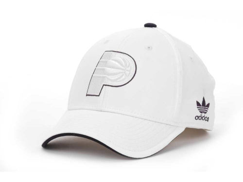 Indiana Pacers NBA White Swat IV Cap Hats