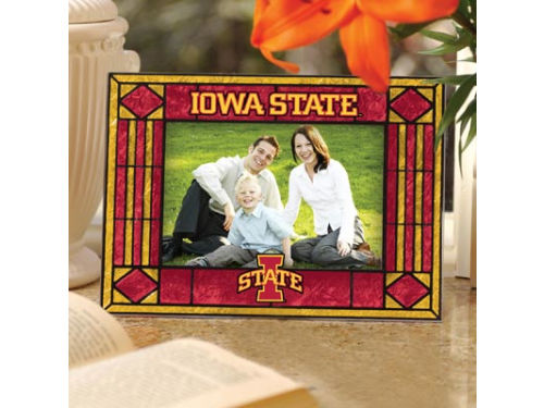 Iowa State Cyclones Art Glass Picture Frame