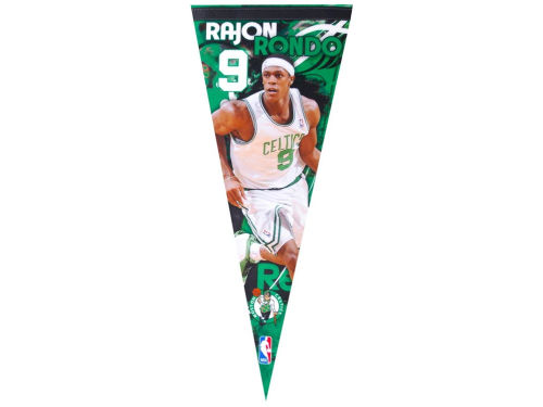 Boston Celtics Rajon Rondo Wincraft 12x30 Premium Player Pennant