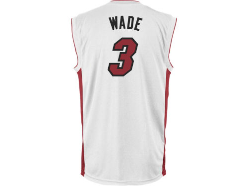 Miami Heat Dwayne Wade adidas NBA Rev 30 Replica Jersey