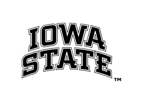 Iowa State Cyclones Decal 6inch x 4inch