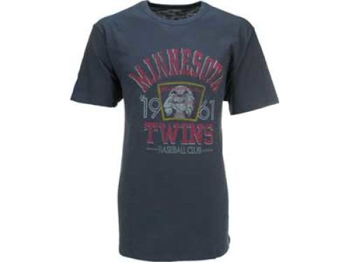 Minnesota Twins '47 Brand MLB White Wash Scrum T-Shirt