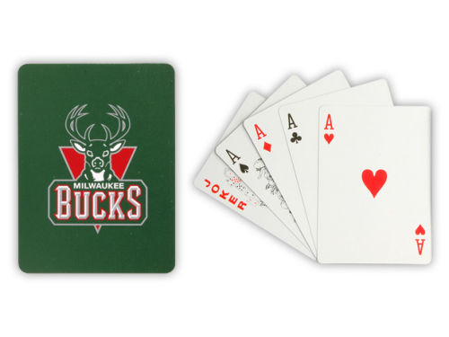 Milwaukee Bucks NBA Playing Cards