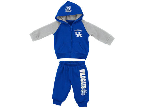 Kentucky Wildcats Colosseum NCAA Infant Charger Fleece Set