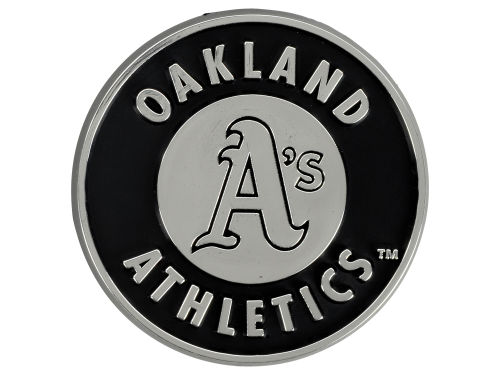 Oakland Athletics Auto Emblem