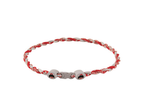 Ohio State Buckeyes NCAA Titanium Twist Necklace 18in