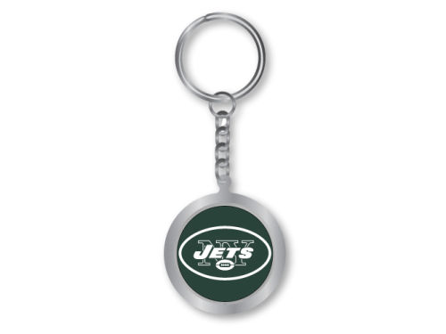 New York Jets Aminco Inc. Spinning Keychain
