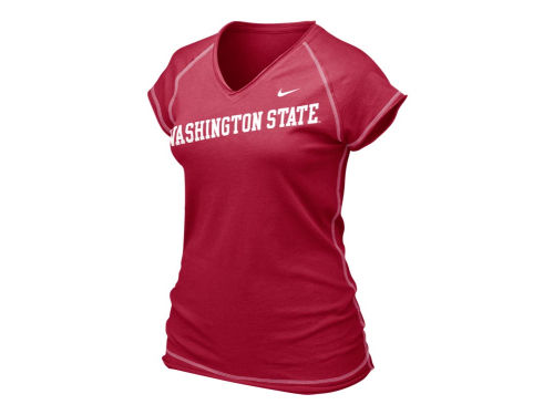 Washington State Cougars Nike NCAA Womens Ole Faithful T-Shirt