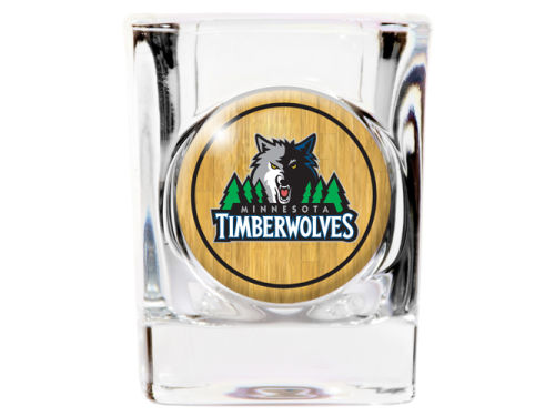 Minnesota Timberwolves 35mm Square Shotglass