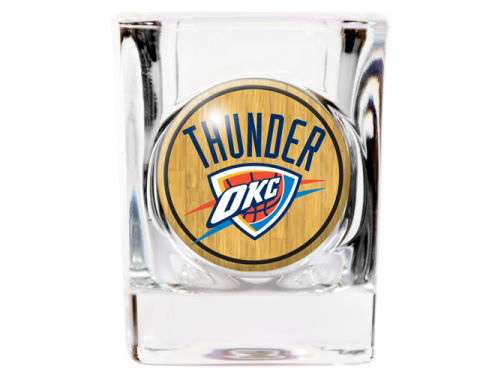 Oklahoma City Thunder 35mm Square Shotglass