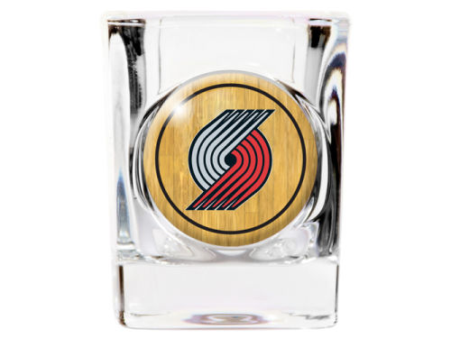 Portland Trail Blazers 35mm Square Shotglass