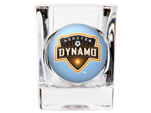 Houston Dynamo 35mm Square Shotglass