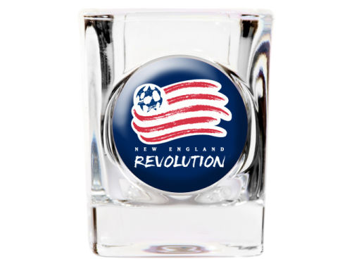 New England Revolution 35mm Square Shotglass