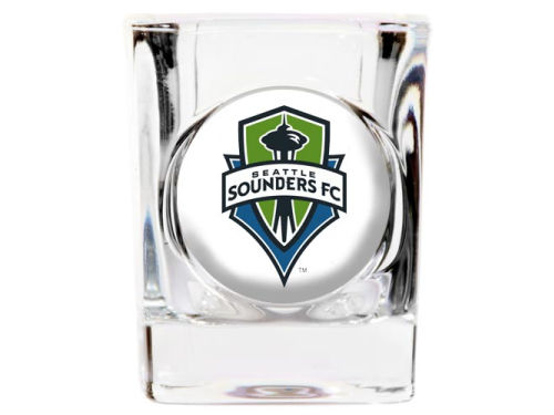 Seattle Sounders FC 35mm Square Shotglass