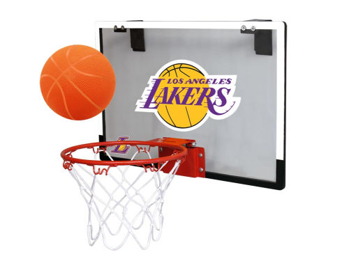 Los Angeles Lakers Jarden Sports Game On Polycarb Hoop Set