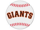San Francisco Giants Baseball Mat Home Office & School Supplies