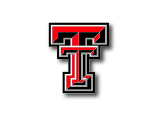 Texas Tech Red Raiders Logo Pin