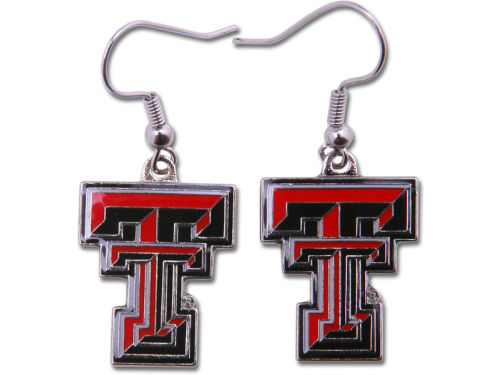 Texas Tech Red Raiders Logo Earrings