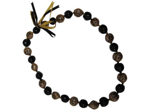 Purdue Boilermakers NCAA Kukui Nut Necklace