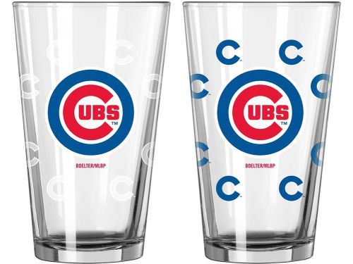 Chicago Cubs 16oz Color Changing Pint Glass