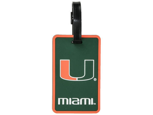 Miami Hurricanes Soft Bag Tag