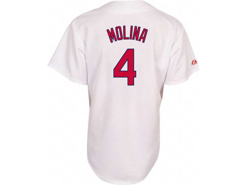 St. Louis Cardinals Yadier Molina Majestic MLB Youth Player Replica Jersey