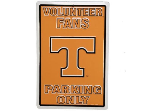 Tennessee Volunteers Parking Sign