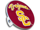 USC Trojans Logo Hitch Cover Auto Accessories