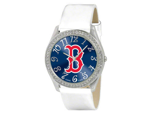 Boston Red Sox Glitz Ladies Watch