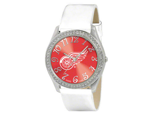Detroit Red Wings Glitz Ladies Watch