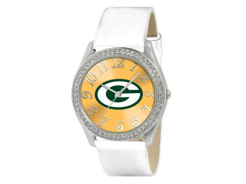 Green Bay Packers Game Time Pro Glitz Ladies Watch