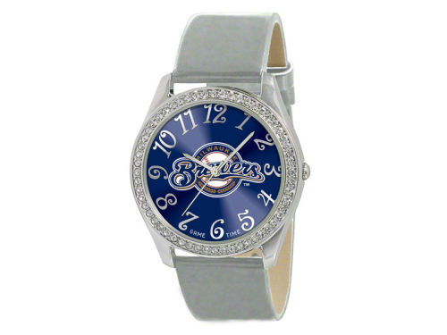 Milwaukee Brewers Game Time Pro Glitz Ladies Watch