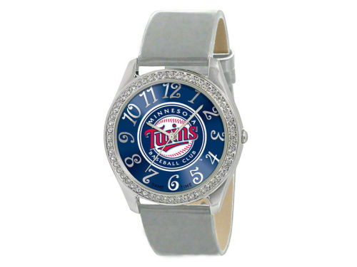 Minnesota Twins Glitz Ladies Watch