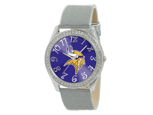 Minnesota Vikings Glitz Ladies Watch