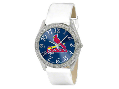 St. Louis Cardinals Game Time Pro Glitz Ladies Watch
