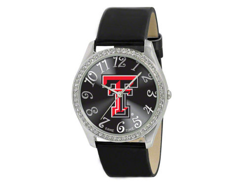 Texas Tech Red Raiders Glitz Ladies Watch