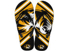 Missouri Tigers Forever Collectibles Big Logo Flip Flop NCAA Apparel & Accessories