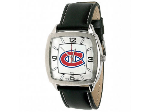 Montreal Canadiens Retro Leather Watch