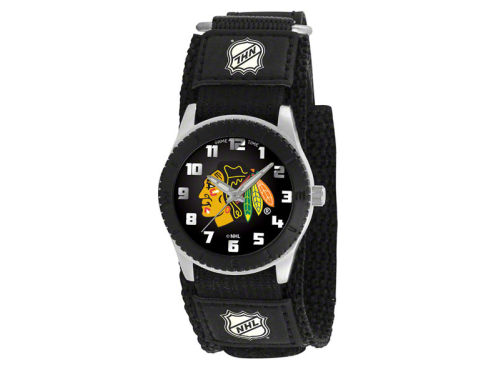 Chicago Blackhawks Game Time Pro Rookie Kids Watch Black