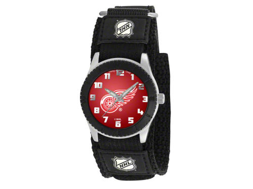 Detroit Red Wings Game Time Pro Rookie Kids Watch Black