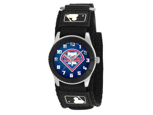 Philadelphia Phillies Game Time Pro Rookie Kids Watch Black